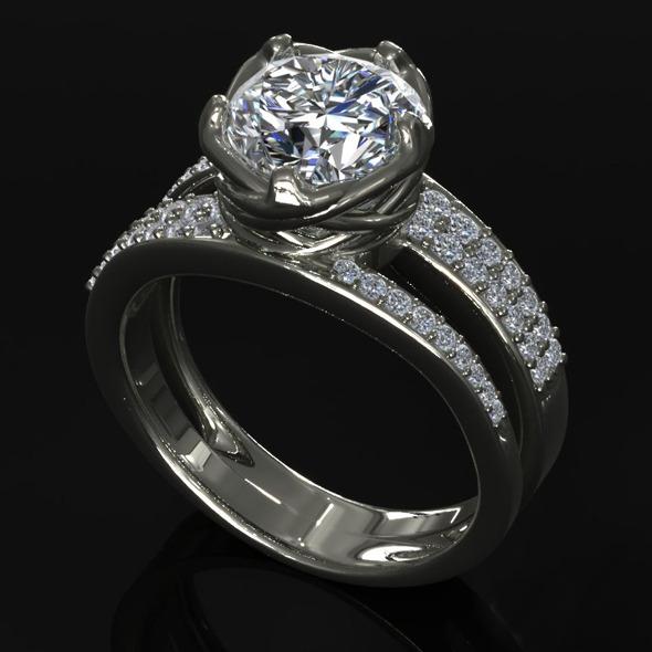3DOcean CK Diamond Ring 007 5471417
