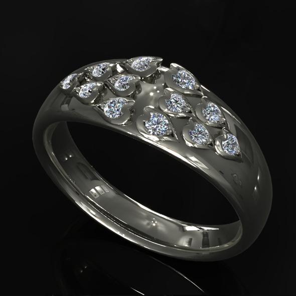 CK Diamond Ring 008