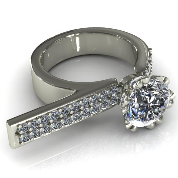 CK Diamond Ring 010
