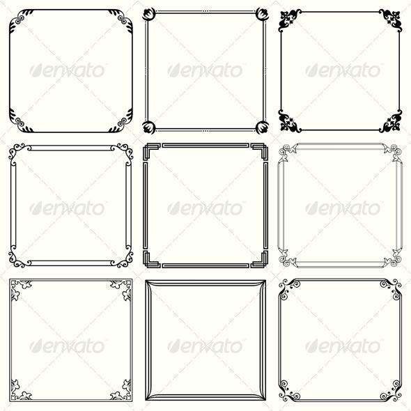 GraphicRiver Decorative Frames 5471591