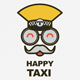 Happy Taxi Logo - GraphicRiver Item for Sale
