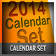 2014 Calendar Set Kare - GraphicRiver Item for Sale