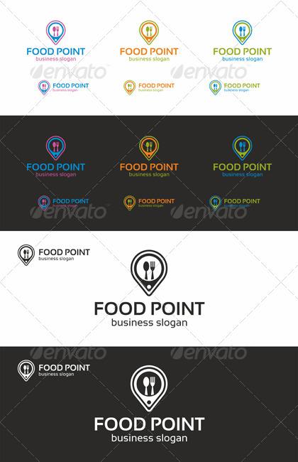 Food Point Locator Logo