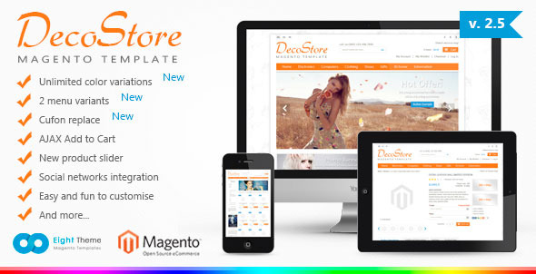 DecoStore - Premium Magento Theme