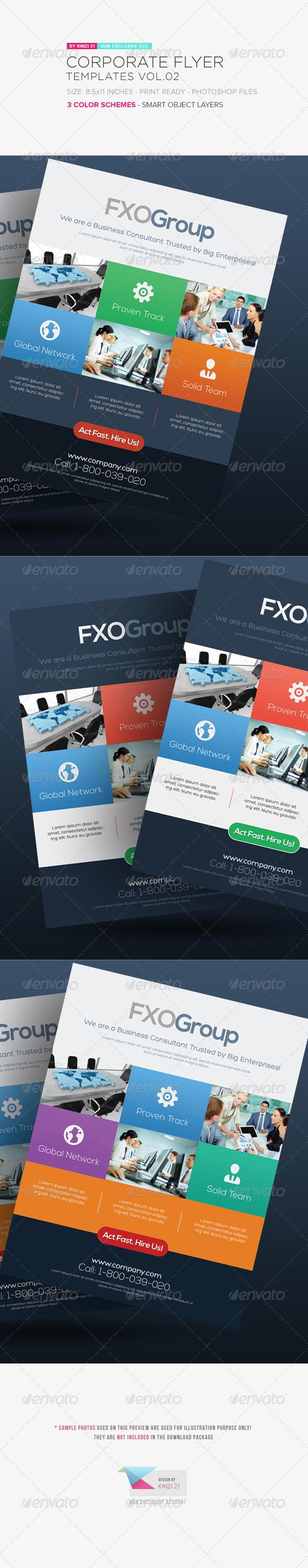 GraphicRiver Corporate Flyer Templates Vol.02 5472859