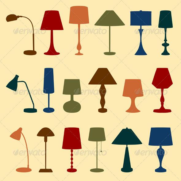 GraphicRiver Lamps 5472986