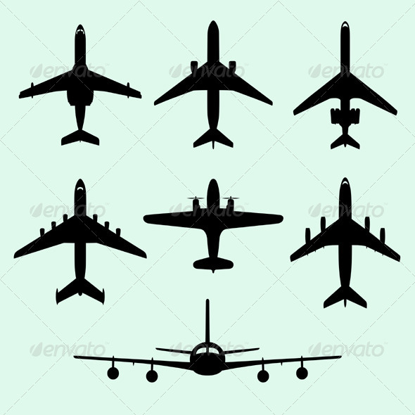 GraphicRiver Airplanes 5472997