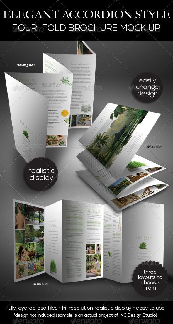 Panel Brochure Template Panel Brochure Template X - 5 fold brochure template