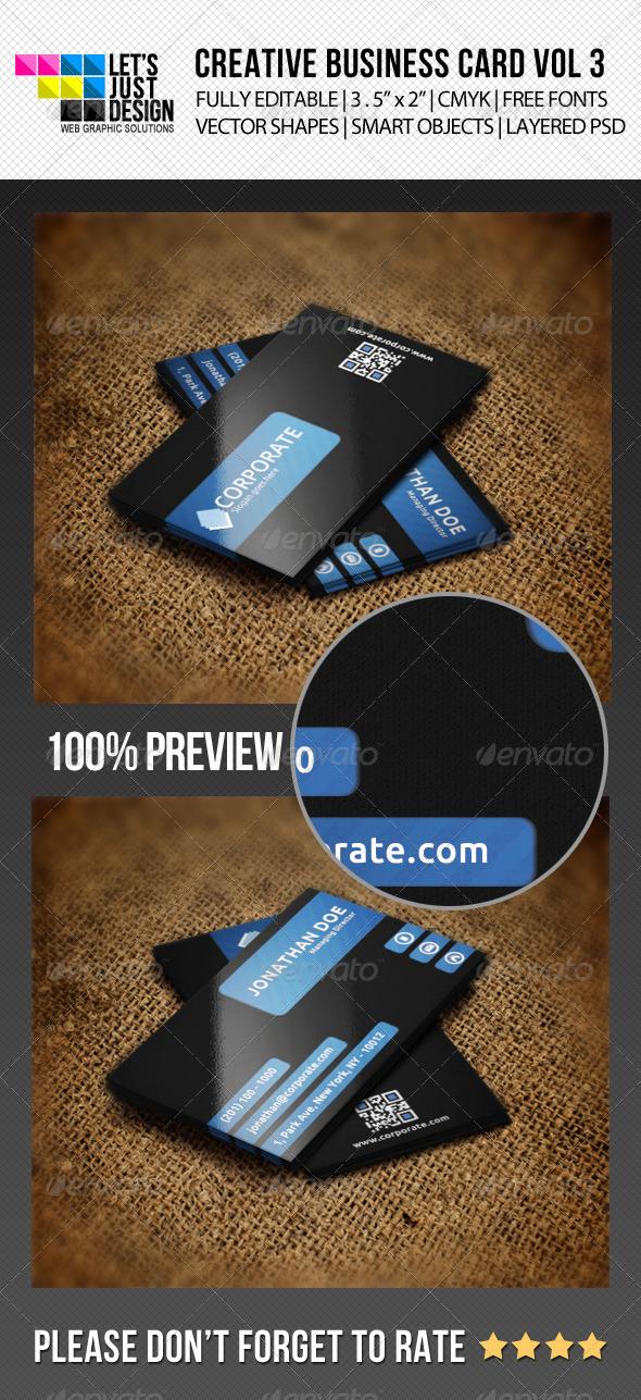 GraphicRiver Creative Business Card Vol 3 5473081