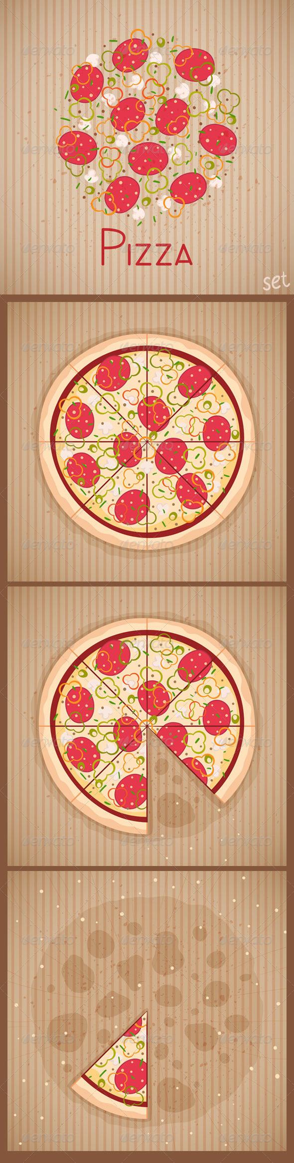 GraphicRiver Pizza 5473095
