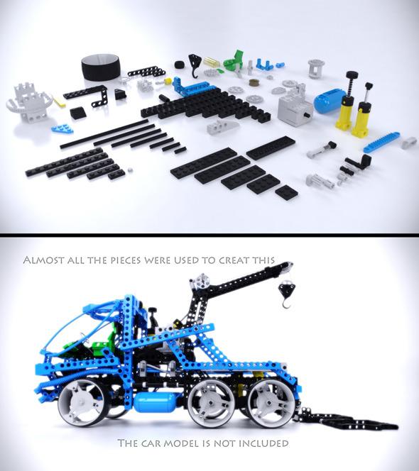 Lego Technic Pieces - 3DOcean Item for Sale
