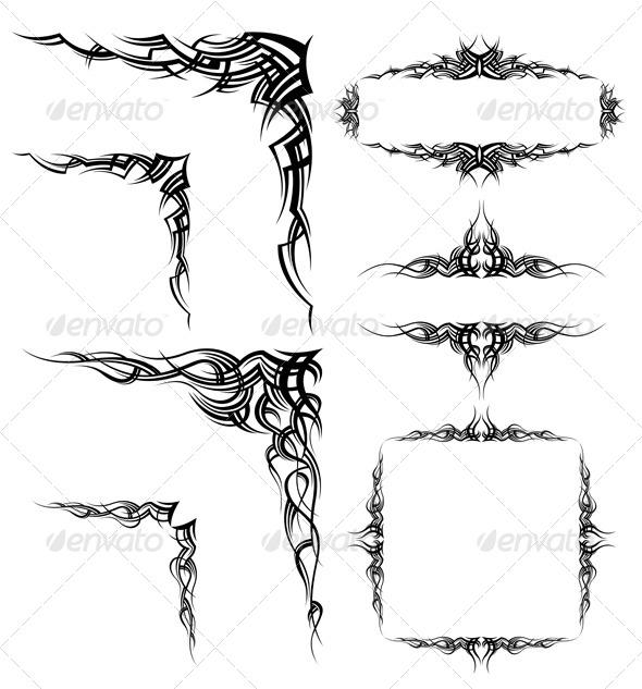 GraphicRiver Set of Design Elements 5474241