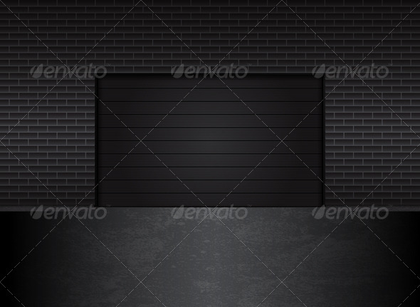 GraphicRiver Garage Gates 5474263