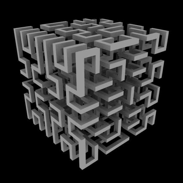 Complex Maze - 3DOcean Item for Sale