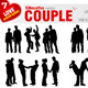 Couple Silhouettes - GraphicRiver Item for Sale