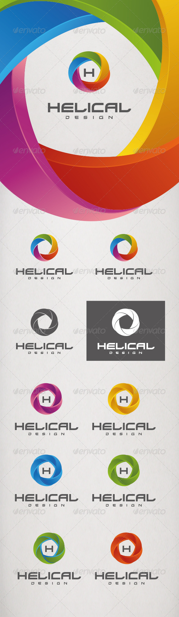 GraphicRiver Logo Helical 5467723