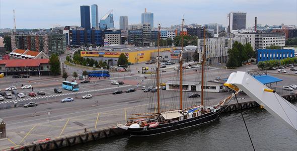 VideoHive Tallinn City Traffic 5474795
