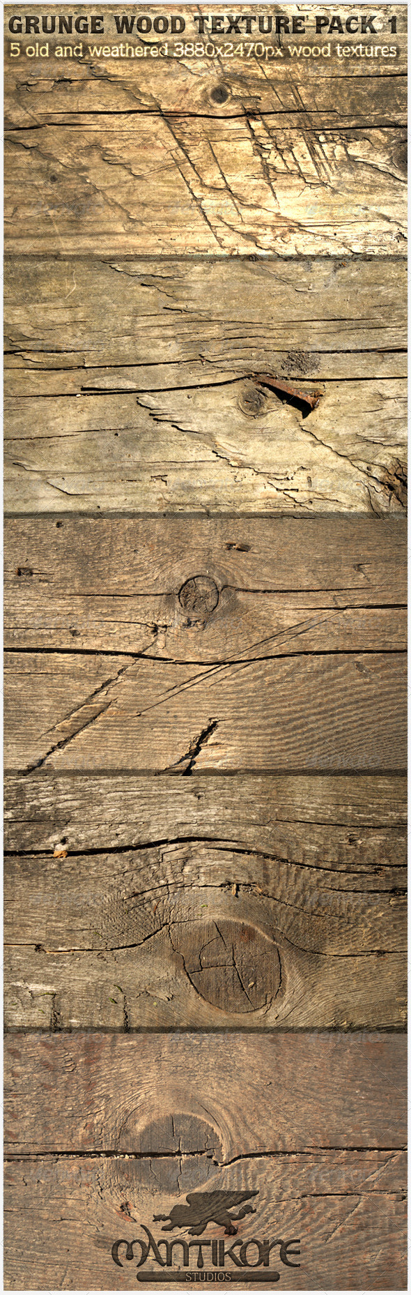 GraphicRiver Grunge Wood Texture Pack 1 5474798