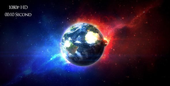 VideoHive Colorfull Space Earth 5474805