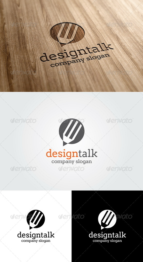GraphicRiver Design Talk Logo 5474986