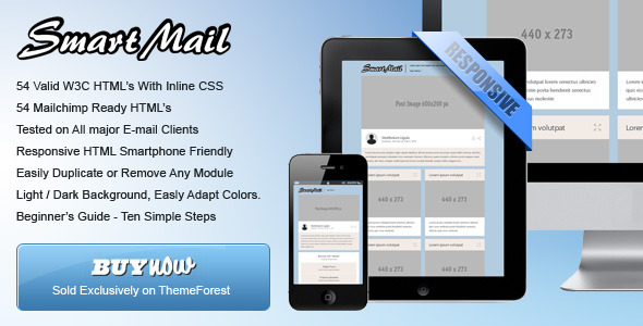SmartMail - 108 Responsive Email Templates