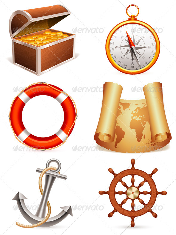 GraphicRiver Marine Icons 5475867