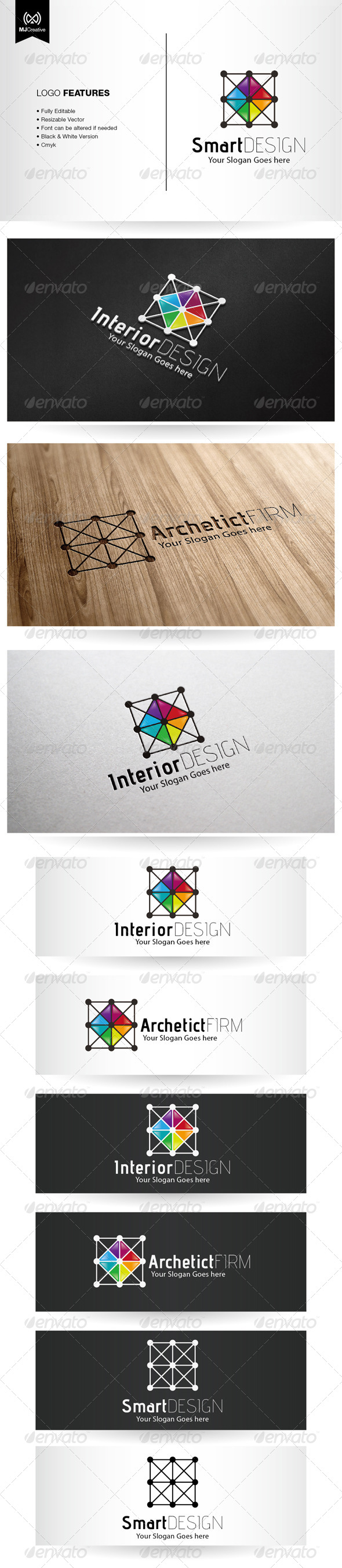 GraphicRiver Architecture And Interior Design Logo 5475973