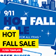 Hot Fall Sale Print Template - GraphicRiver Item for Sale