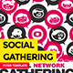 Social Network Gathering Flyer - GraphicRiver Item for Sale