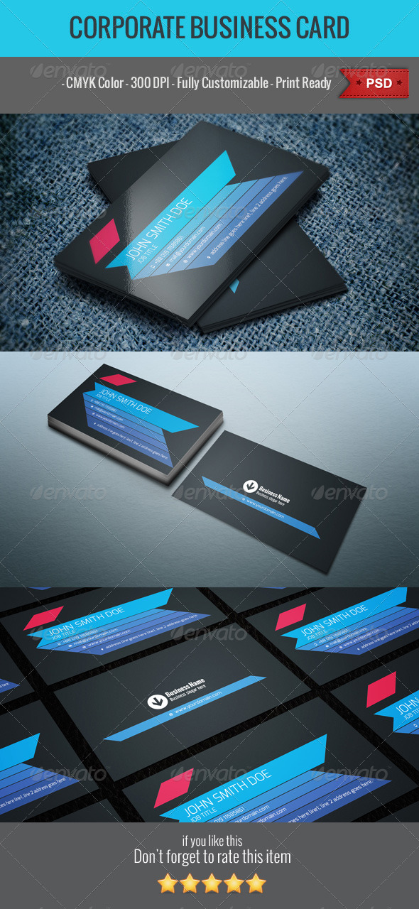 GraphicRiver Business Card v3 5451375