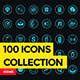 100 Icons Collections - GraphicRiver Item for Sale