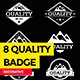 8 Quality Badges - GraphicRiver Item for Sale