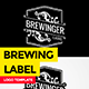 Vintage Brewing Label - GraphicRiver Item for Sale
