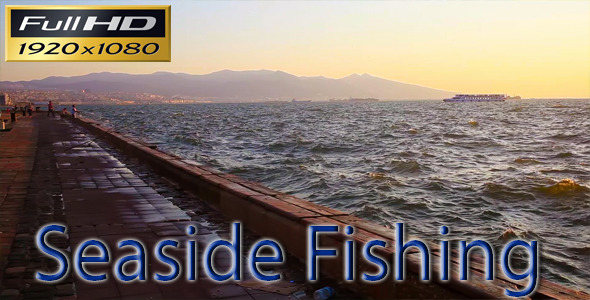 VideoHive Fishing at the Seaside 5476293