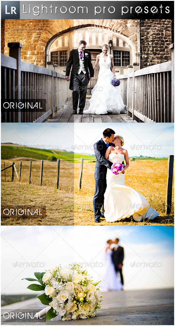 GraphicRiver 13 Wedding Pro Presets 5476908