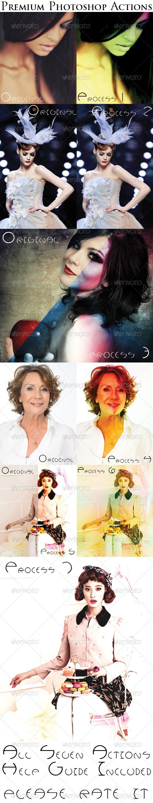 GraphicRiver Premium Photoshop Actions 5477511