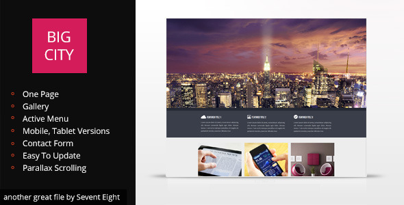 ThemeForest Big City Design 5477654