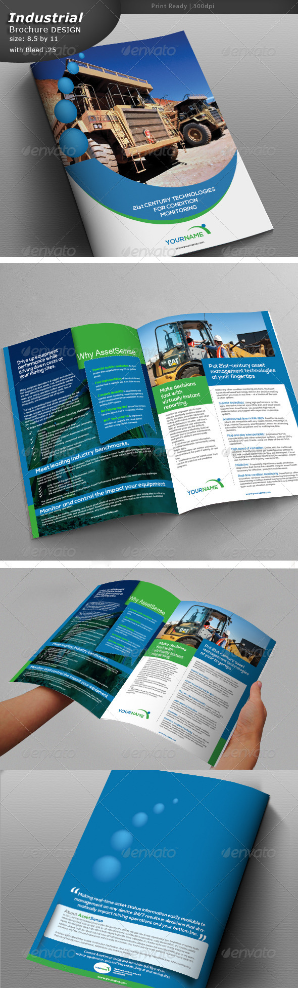 GraphicRiver Construction Company Brochure 5477672