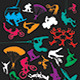 Extreme Sport Silhouettes - GraphicRiver Item for Sale