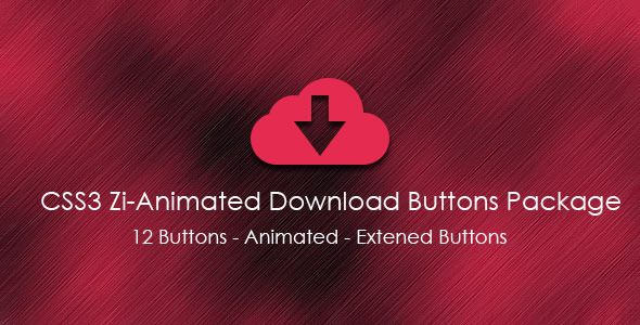 CodeCanyon CSS3 Zi-Animated Download Buttons Package 5477837