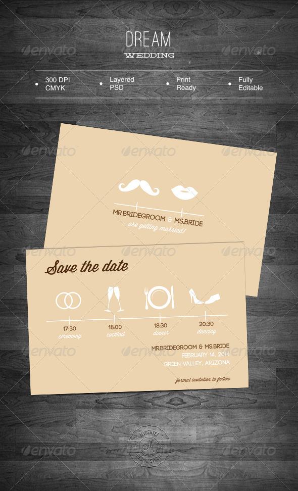 Wedding template stationery and design templates reheart Image collections