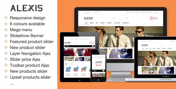 ThemeForest Alexis Fashion Responsive Magento Theme 5479987