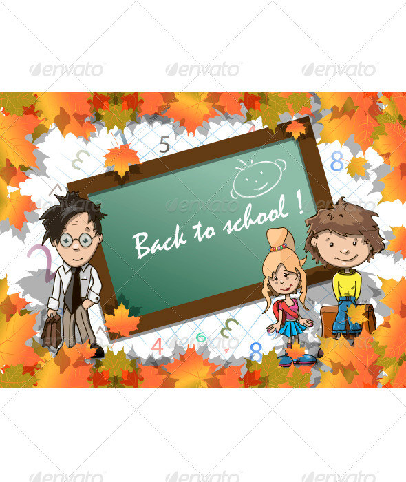 GraphicRiver Beginning of the School Year 5480813