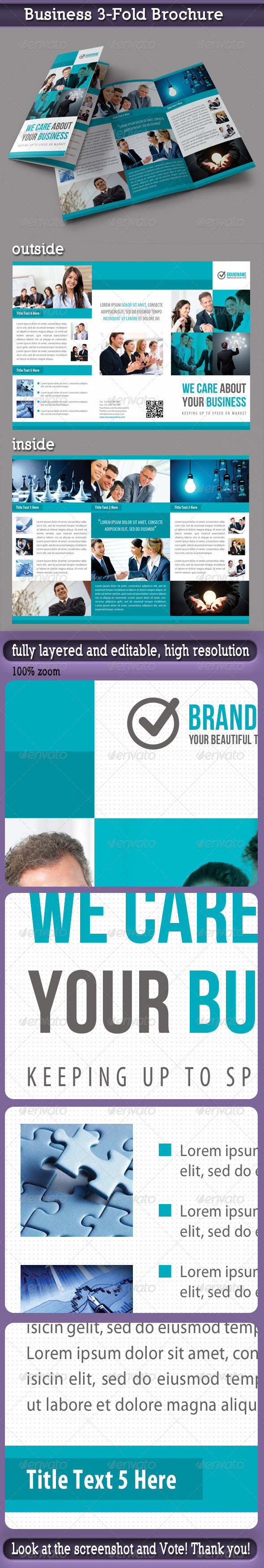 GraphicRiver Business 3-Fold Brochure 5481115