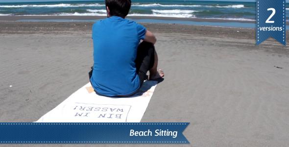 VideoHive Beach Sitting 5481147