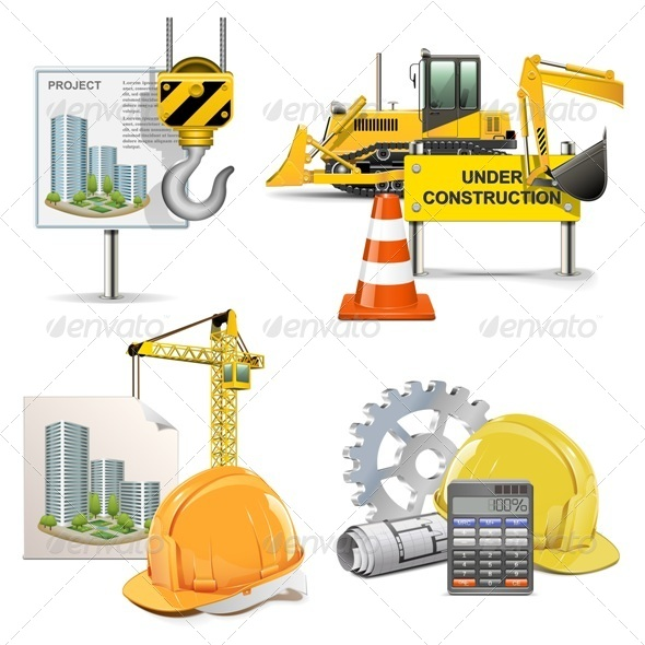 GraphicRiver Vector Design and Construction 5481195