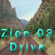 Drive at Zion National Park part 03 Full HD - VideoHive Item for Sale
