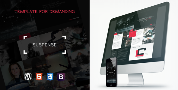 SUSPENSE - Responsive Multipurpose WordPress Theme
