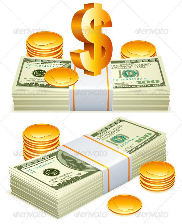 GraphicRiver Money Packs 5482231