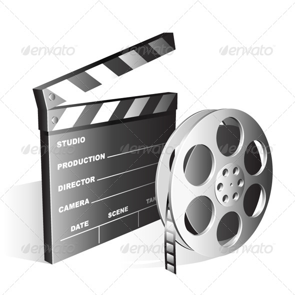 GraphicRiver Movie Symbols 5482236